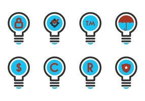Copyright Symbol In A Bulb