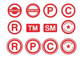 Patent Stamp Vector Pack