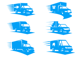 Moving Van Logo Vector