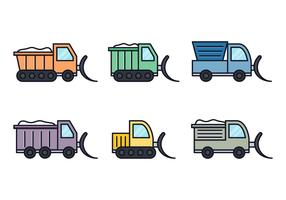 Snow Plow Vectors