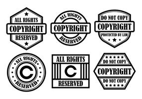 Free Copyright Vector Icons