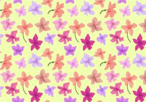 Free Rhododendron Pattern Vectors