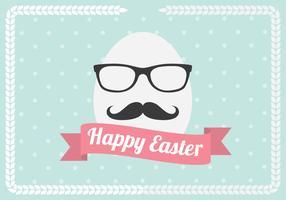 Hipster Egg Vector