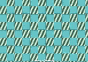 Blue Flannel Ornament Pattern Vector