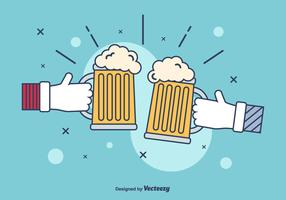 Beer Illustration Vector
