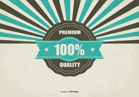 Promotional Retro Premium Quality Background