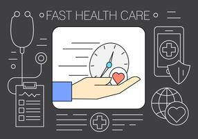 Free Health Care Signs and Symbols in Vector Elements