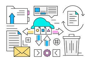Free Cloud Computing Icons