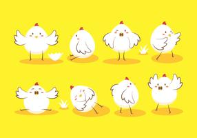 Easter Egg Chick Vector