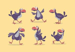 Dodo Bird Vector Set