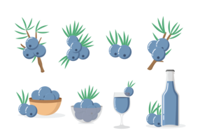 Juniper Icons Vector