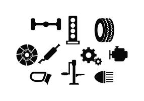 Free Automotive Icon Vector