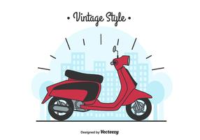 Lambretta Vector Background