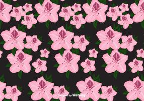 Rhododendron Vector Pattern