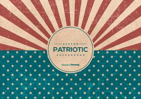 Retro American Grunge Style Patriotic Background