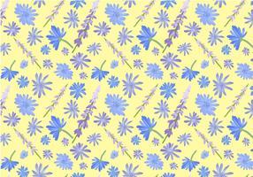 Free Wildflowers Pattern Vectors