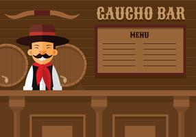 Gaucho Bar Free Vector
