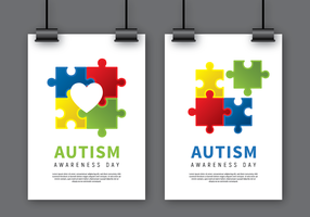 Autism Awareness Poster Mock Up
