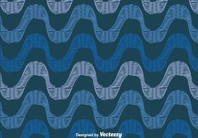 Blue Copacabana Seamless Pattern