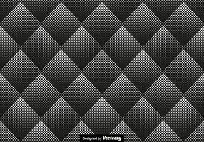 Halftone Seamless Pattern Vector Illustration