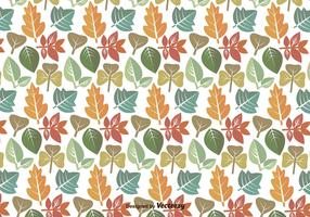 Leaves Pattern Vector Icons