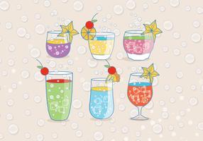 Refreshing Fizz Drink Vectors