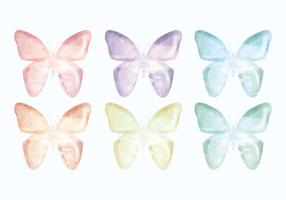 Vector Hand Drawn Butterflies Collection