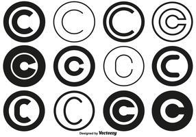 Vector Copyright Symbol Collection