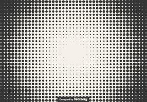 Halftone Vector Illustration