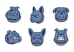 Free Bulldogs Mascot Vector