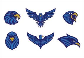 Free Eagles Logo Vector Tribal