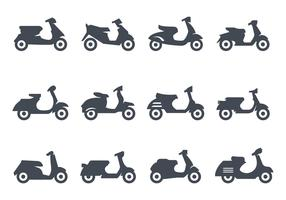 Free Scooter Icons Vector