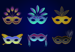 Beautiful Masquerade Ball Vector