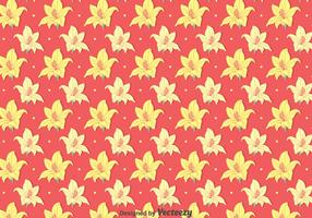 Yellow Rhododendron Flowers Pattern