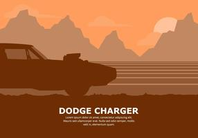 Dodge Car Illustration