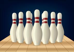 Bowling Lane Pin