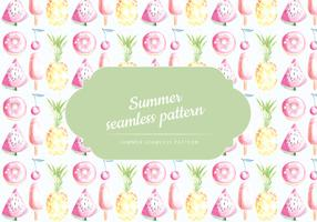 Vector Summer Pattern