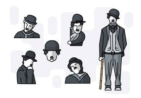 Free Unique Charlie Chaplin Vectors
