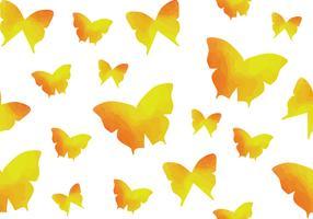 Watercolour Butterfly Seamless Pattern