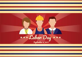 Labor Day Vector Art