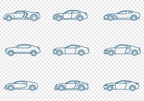 Cars Icons Set