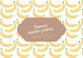 Vector Hand Drawn Bananas Seamless Pattern