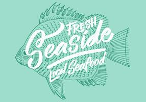 Fresh Local Seafood Fish Design