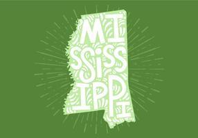 Mississippi State Lettering