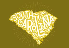 South Carolina State Lettering