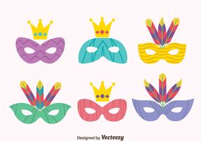 Great Masquerade Mask Vectors
