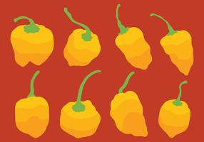Habanero Vector Icons