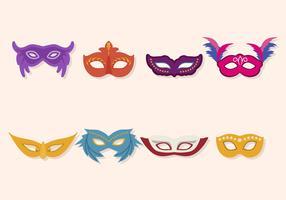 Flat Masquerade Ball Vectors