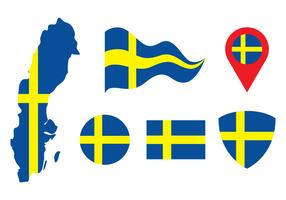 Sweden Vector Set
