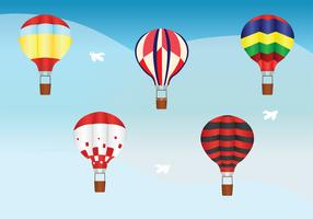 Hot Air Balloon Vector Pack
